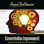 Concentration Improvement: Isochronic Tones Brainwave Entrainment by Binaural Mind Dimension