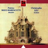 Purcell, Dowland, Britten, Duarte, Giuliani & Leu: Vocal & Guitar Works by Christophe Leu