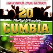 Los Mejores de Todos los Tiempos - 20 Temazo de Cumbia by Various Artists