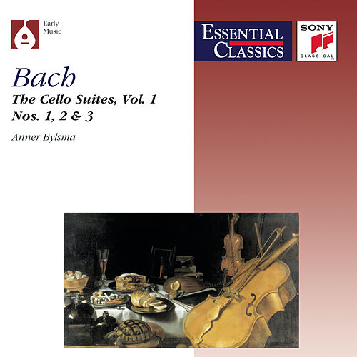 Bach:  Suites for Violoncello, Vol. 1 by Anner Bylsma