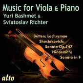 Music for Viola and Piano de Yuri Bashmet