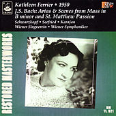 Ferrier Sings Bach: Arias & Scenes from Mass in B Minor & St. Matthew Passion de Kathleen Ferrier