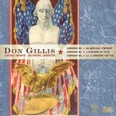 Symphony Nos. 1, 2 & 5 1/2 by Don Gillis