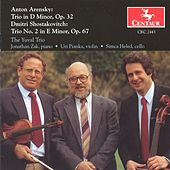 Arensky: Trio in D Minor, Op. 32 - Shostakovitch: Trio No. 2 in E Minor, Op. 67 by The Yuval Trio