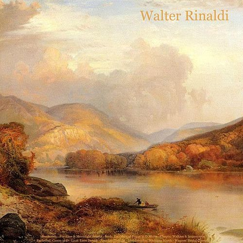 Beethoven: Fur Elise & Moonlight Sonata - Mozart: Turkish March - Bach: Toccata and Fugue in D Minor - Chopin: Waltzes & Impromptu - Pachelbel: Canon in D - Liszt: Love Dream - Paradisi: Toccata - Mendelssohn: Wedding March - Wagner: Bridal Chorus by Walter Rinaldi