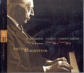 Schumann / Liszt / Saint-Saens: Concertos de Arthur Rubinstein