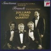 String Quartets by Franck and Smetana by Juilliard String Quartet