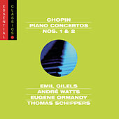 Chopin:  Piano Concertos  Nos. 1 & 2 by Various Artists