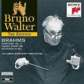 Brahms: Symphony No.4; Tragic Overture; Schicksalslied de Bruno Walter