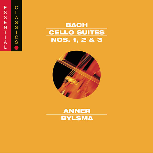 Bach: Cello Suites Nos. 1, 2 & 3 (Vol. 1) by Anner Bylsma