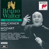 Bruckner: Te Deum; Mozart: Requiem de Bruno Walter