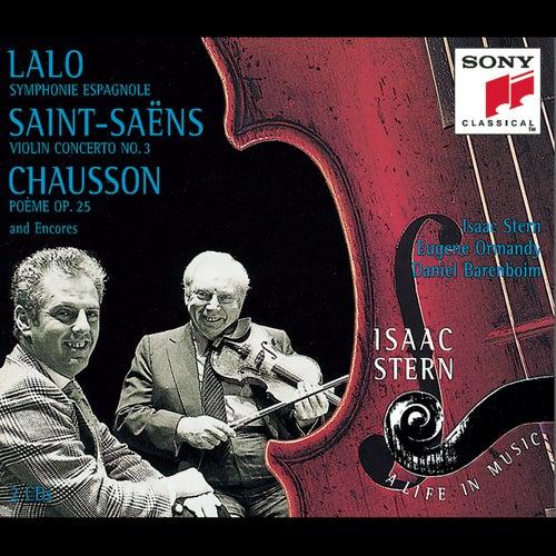 Lalo: Symphonie espagnole; Saint-Saëns:  Violin Concerto No. 3; etc. by Various Artists