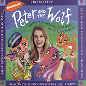 Peter and the Wolf; Carnival of the Animals; Young Person's Guide to the Orchestra by Melissa Joan Hart, Boston Symphony Orchestra, Seiji Ozawa