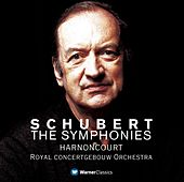Schubert : Symphonies Nos 1 - 9 [Complete] by Nikolaus Harnoncourt