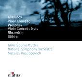 Glazunov & Prokofiev : Violin Concertos de Anne-Sophie Mutter, Mstislav Rostropovich & National Symphony Orchestra