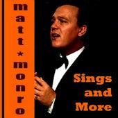 Matt Monro Sings and More by Matt Monro