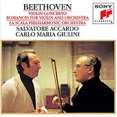 Beethoven:  Concerto for Violin and Orchestra & Romances for Violin and Orchestra by Salvatore Accardo