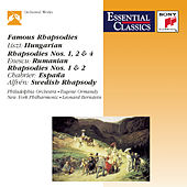 Famous Rhapsodies de Various Artists