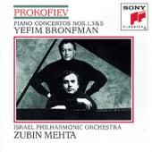 Prokofiev: Piano Concertos Nos. 1, 3, 5 di Israeli Philharmonic Orchestra