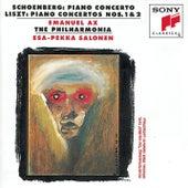 Schoenberg: Piano Concerto; Liszt: Piano Concertos Nos. 1 & 2 by Esa-Pekka Salonen