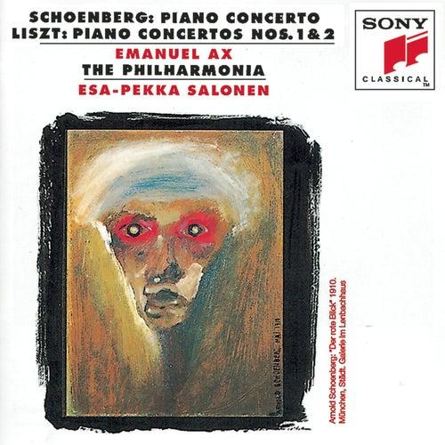 Schoenberg: Piano Concerto; Liszt: Piano Concertos Nos. 1 & 2 by Various Artists