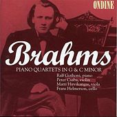 Brahms: Piano Quartets Nos. 1 &3 by Peter Csaba