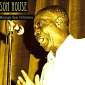 Mississippi Blues Performance by Son House