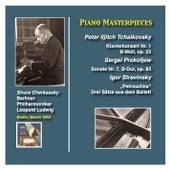 Piano Masterpieces: Shura Cherkassky plays Tchaikovsky, Prokofiev and Stravinsky von Shura Cherkassky