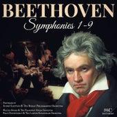 Beethoven: Symphonies Nos. 1-9 von Berlin Philharmonic Orchestra