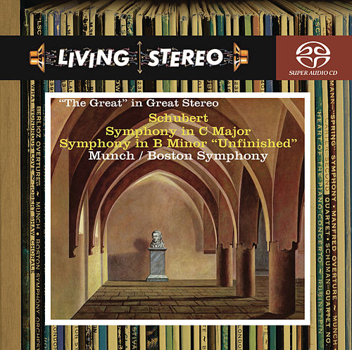 Schubert: Symphony No. 9 in C Major 'Great'; Symphony No. 8 'Unfinished' by Boston Symphony Orchestra