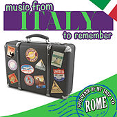Souvenir of My Trip to Rome. Music from Italy to Remember de Various Artists