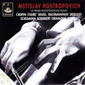 Mstislav Rostropovich: The First Russian Recordings de Mstislav Rostropovich