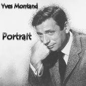 Portrait von Yves Montand