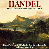 Handel: Organ Concerto in B Flat Major, Op. 4 No. 2 de Jeanne Demessieux