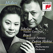 Sibelius: Violin Concerto in D minor, Op. 47; Bruch: Scottish Fantasy, Op. 46 de Israeli Philharmonic Orchestra