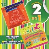 Colección 2 en 1: Las Canciones del Jardín & Las Canciones del Dinosaurio Más Famoso by Chiqui Chiquititos