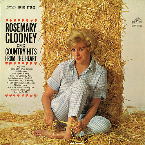 Rosemary Clooney Sings Country Hits from the Heart by Rosemary Clooney