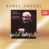 Ančerl Gold 9 Brahms: Symphony No. 1/Beethoven: Symphony No. 1 by Czech Philharmonic Orchestra