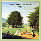Seckendorff: Lieder from Goethe's Weimar by Jan Kobow
