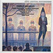 Milhaud: Aspen Serenade - Stanford Serenade - Les rêves de Jacob (Jacob's Dreams) by Various Artists