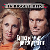 George Jones and Tammy Wynette - 16 Biggest Hits by George Jones