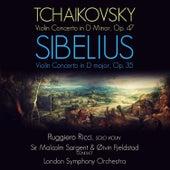 Tchaikovsky & Sibelius: Violin Concertos von Ruggiero Ricci
