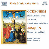 Ockeghem: Missa L'Homme Arme / Josquin: Memor Esto Verbi Tui von Johannes Ockeghem