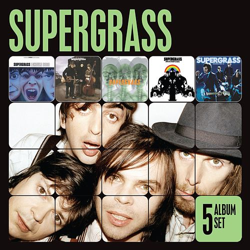5 Album Set [I Should Coco/In It for the Money/Supergrass/Life on Other Planets/Diamond Hoo Ha] (I Should Coco/In It for the Money/Supergrass/Life on Other Planets/Diamond Hoo Ha) de Supergrass