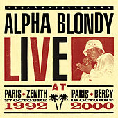 Live at Paris Zenith 1992 & Paris Bercy 2000 von Alpha Blondy
