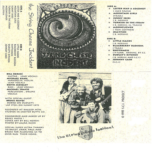 Aged Cheese: SCI's First Cassette Tape by The String Cheese Incident