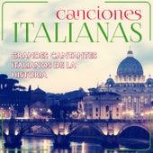 Canciones Italianas. Grandes Cantantes Italianos de la Historia von Various Artists