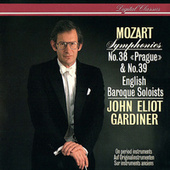 Mozart: Symphonies Nos.38 & 39 von English Baroque Soloists