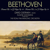 Beethoven: 2 Romances for Violin and Orchestra by David Oistrakh