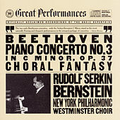 Beethoven: Piano Concerto No. 3 in C Minor, Op. 37 & Choral Fantasy, Op. 80 von Leonard Bernstein